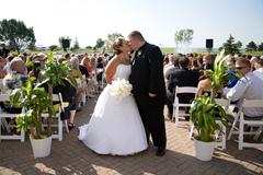 Courtney and Noah's Wedding in Maumee Bay, OH, USA