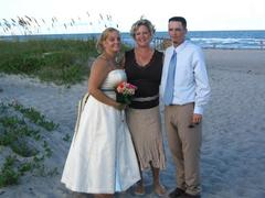 Our Wedding in Cape Canaveral, FL, USA