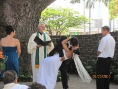 Winnie and Christian's Wedding in Diamond Head, HI, USA