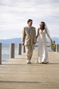 The Lavender Wedding in Emerald Bay, CA, US