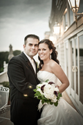 Riverhead Wedding In October in Baiting Hollow, NY, USA