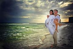 Our Wedding in Eglin Air Force Base, FL, USA