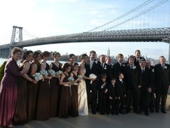 Stacey  and Derek 's Wedding in Brooklyn, NY, USA