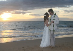 Megan & Aaron's Wedding in Kihei, HI, 96753