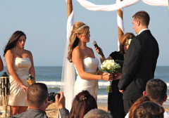 Kimberly and Clayton's Wedding in Vilano Beach, FL, USA