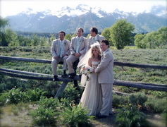 Inger and Tom's Wedding in Jackson, WY, USA