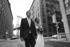 Brooklyn Wedding In May in Jersey City, NJ, USA