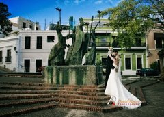 Aaron and Meredith's Wedding in El Condado, Puerto Rico