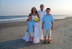 Adam and Bobie's Wedding in Sunset Beach, NC, USA