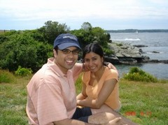 Shalini and Michael's Wedding in Jamestown, RI, USA