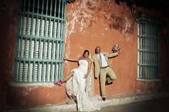 Claudia and Alejandro's Wedding in Cartagena, Bolivar, Colombia