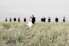 Crossfield Wedding In August in Crossfield, AB, Canada