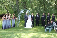 Our Wedding in Wausau, WI, USA