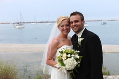 Meg and Nick's Wedding in Whitefish Bay, WI, USA