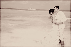 Ashley and Brandon's Wedding in Isla Mujeres, Mexico