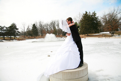 Decatur Wedding In February in Decatur, IL, USA