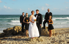 Sandy and Dave's Wedding in Deerfield Beach, FL, USA