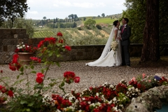 Caroline and Nick's Wedding in Greve in Chianti, Italy