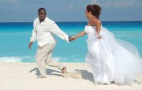 Liza  and Lamont's Wedding in Cancun, Mexico