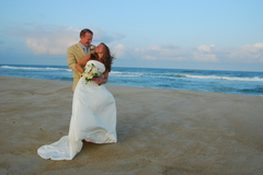 Our Wedding in Salvo, NC, USA