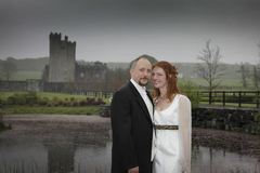 Jay and Lea's Wedding in Cloghan Castle, Kilchrest, Loughrea, County Galway, Republic Of Ireland
