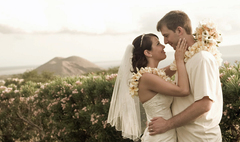April and Michael's Wedding in Wailea, Maui, Hawaii
