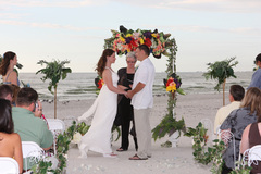 Tawnia  and David's Wedding in Fort de Soto, FL, USA