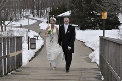 Kalamazoo Wedding In February in Kalamazoo, MI, USA