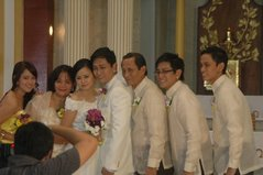 Aris and Jet's Wedding in Cubao City, Quezon City, Philippines