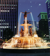 Fountain Square - Entertainment - 500 Vine St, Cincinnati, OH, US