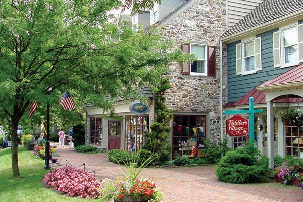 Peddler's Village - Attractions/Entertainment, Shopping - 41 Peddler's Village Road, Lahaska, PA, United States