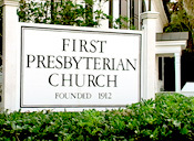 First Presbyterian Church - Ceremony Sites - 1201 North St, Beaufort, SC, 29902