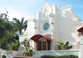 Miami Beach Community Church - Ceremony Sites - 1620 Drexel Ave, Miami Beach, FL, 33139
