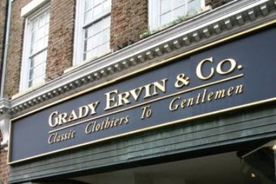 Grady Ervin & Co - Shopping, Tuxedos - 313 King Street, Charleston, SC, United States