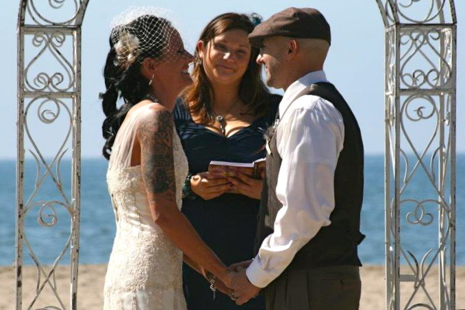 Ceremony - Ceremony Sites - Seacliff State Beach, Aptos, CA, 95003