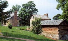 Rocky Mount Historic Site Piney Flats Wedding In May in Bristol, TN, USA