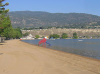 Okanagan Lake Beach - Beaches -