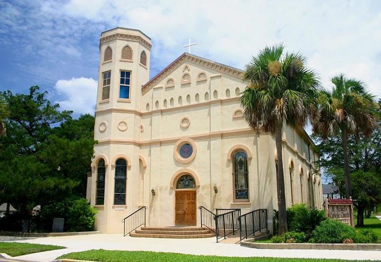 St. Michael's Church - Ceremony Sites - 505 Broome St, Fernandina Beach, FL, 32034