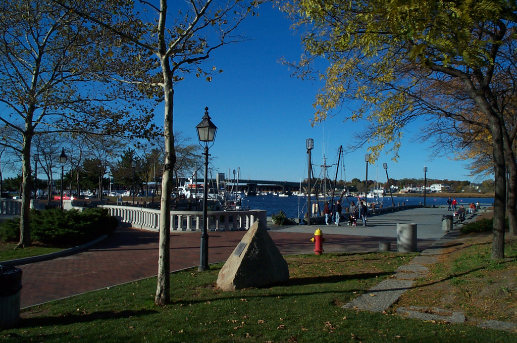 Waterfront Promenade Park - Ceremony Sites - Merrimac St, Newburyport, MA, 01950