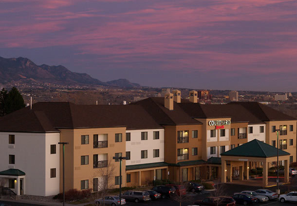 The Courtyard Marriott, Colorado Springs South - Hotels/Accommodations - 2570 Tenderfoot Hill St, Colorado Springs, CO, 80906