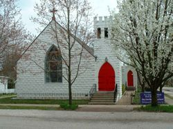 St Stephen's Episcopal Church - Ceremony Sites - 318 Main Street, New Harmony, IN, United States
