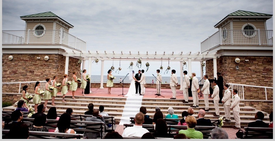 Great Lawn Pavilion Amphitheater Ocean Front - Ceremony Sites - 28 McKinley St, Long Branch, NJ, 07740, USA