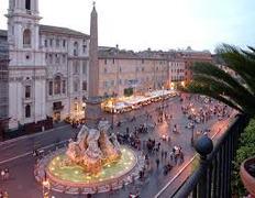 Piazza Navona - Attraksjon - Piazza Navona, Roma, Lazio, IT