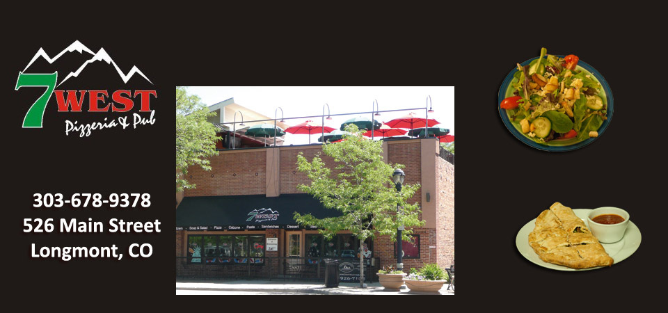 7 West Pizzeria - Restaurants, Rehearsal Lunch/Dinner - 526 Main Street, Longmont, CO, United States