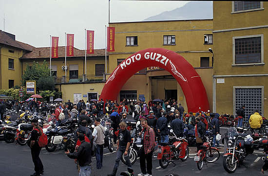 Moto Guzzi Motorbike Museum - Attractions/Entertainment - Via Emanuele V. Parodi, Mandello del Lario, Italy