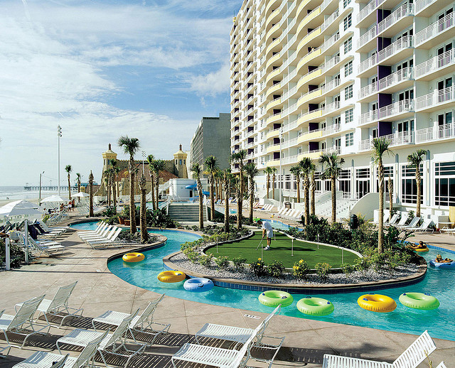 Wyndham Oceanwalk Resort - Hotels/Accommodations - 300 N Atlantic Ave, Daytona Beach, FL, 32118