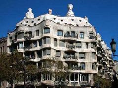 La Pedrera - Attraction - Passeig de Gràcia, Barcelona, Catalonia, ES