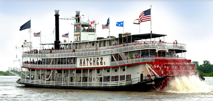 Natchez Steamboat - Cruises/On The Water, Reception Sites - Toulouse St, Decatur St, New Orleans, LA