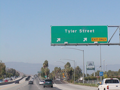 91 freeway exit Tyler Avenue - Attraction -