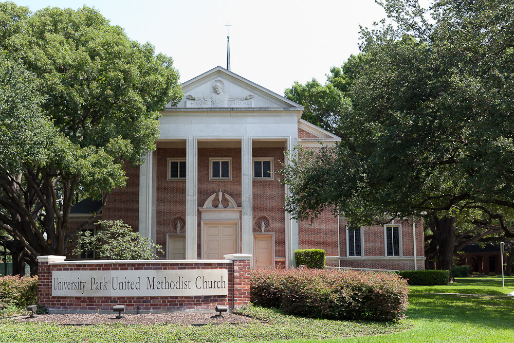University Park United Methodist Church - Ceremony Sites - 4024 Caruth Blvd, Dallas, TX, 75225